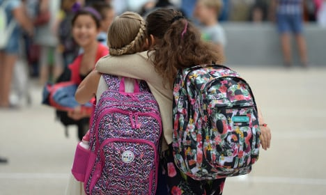 French kids have least school days in all OECD