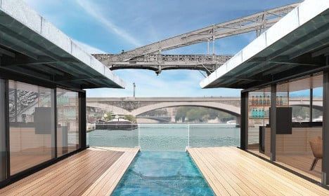 Paris to get first floating hotel on the River Seine