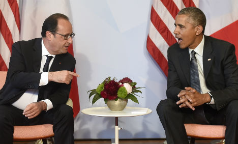 Hollande heads to US to appeal to Obama