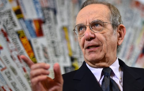 'Terror threat could harm Italy recovery': Padoan