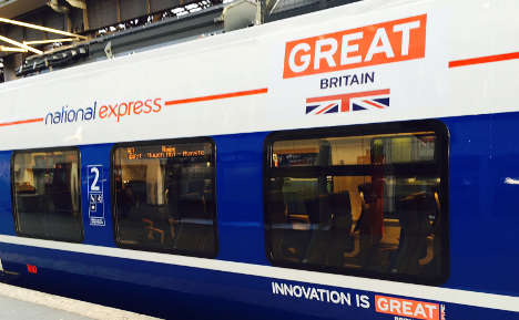 'Very British' trains build steam in Germany