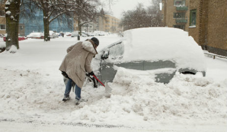 White Christmas to hit Sweden two days late
