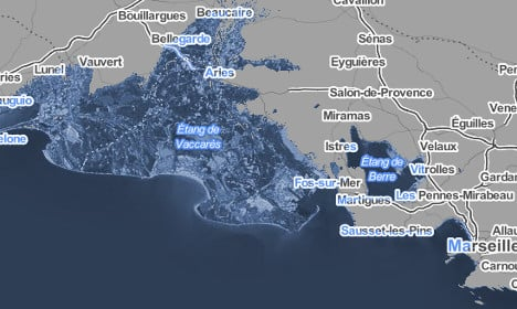 How France would change if sea levels rise