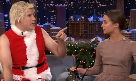 Will Ferrell Puts Odd Spin On Swedish Christmas The Local