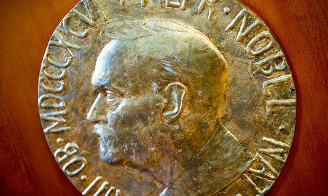 Nobel medal to go on show at terror attack site