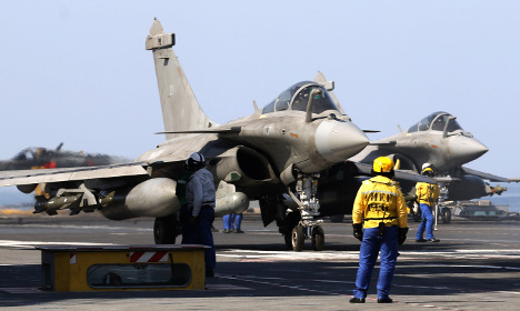 France uses first cruise missiles against Isis