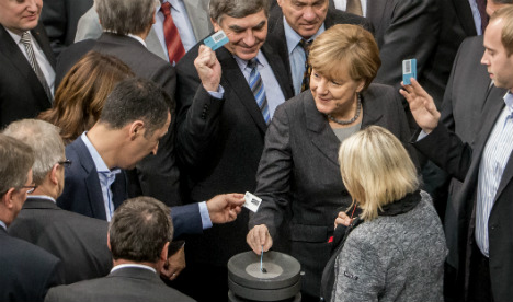 German mission to Syria gets go-ahead from MPs