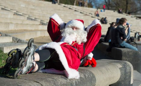 No white Christmas for Germany: weathermen