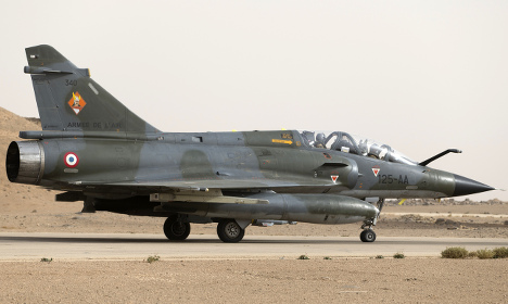 French jets strike Isis oil sites in Syria: minister