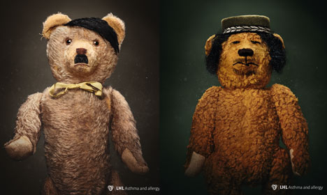 Norway ads use Hitler teddy to scare parents… about dust