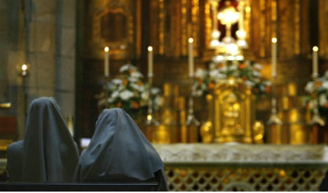 Spanish police rescue nuns cloistered in 'virtual slavery'