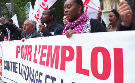 France sets new record high for unemployment