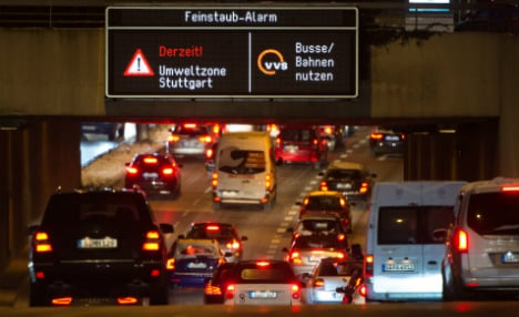 Stuttgart asked to stop driving as city faces record pollution