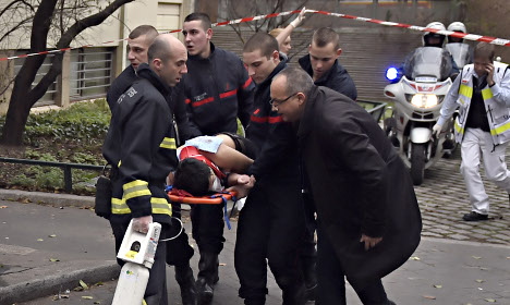 The Charlie Hebdo attack as it happened
