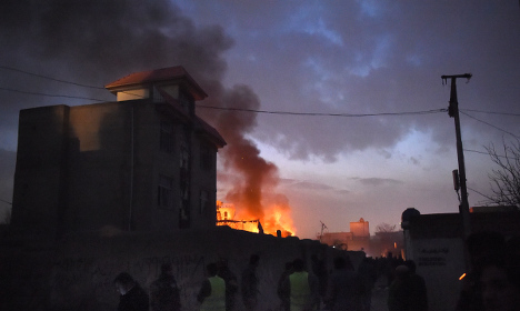 Taliban targets French restaurant in Kabul