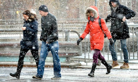 Cold snap to stay with north cooling to -30C