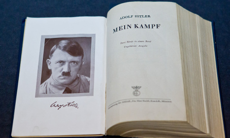 Storm in Israel as Hitler book is published again
