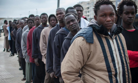 Migrants 'face beatings and abuse' trying to enter Spanish territory