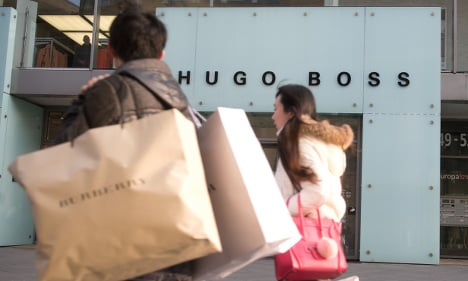 Hugo Boss smashes sales records as Europe booms