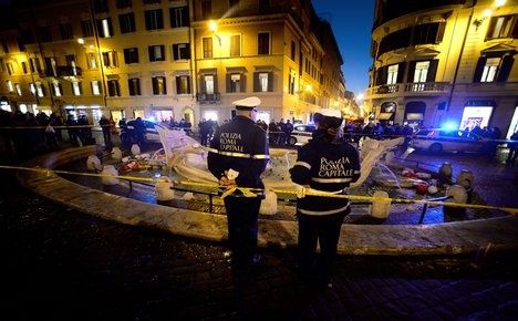 Italy to punish monument vandals with longer jail terms