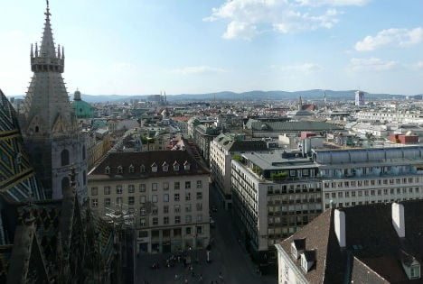 Vienna is top city for overall quality of life