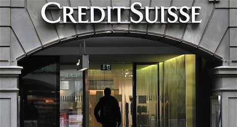 Credit Suisse posts first net loss since 2008