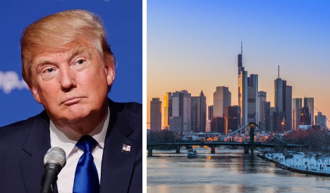 How Trump planned Europe's tallest tower in Frankfurt