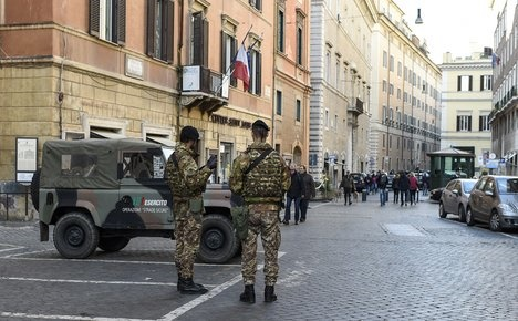 Terror: risk of an attack on Italy 'very high'