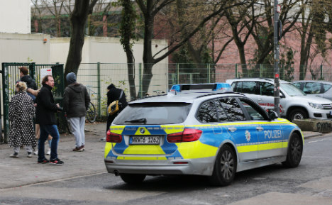 Cologne police 'fail to act' as anarchy breaks out at school