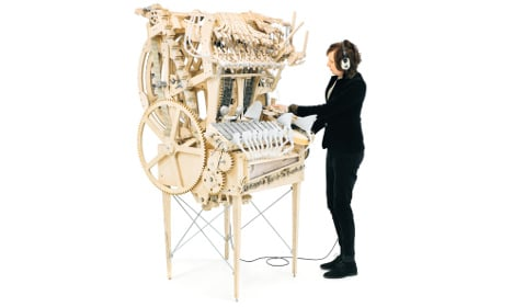 Watch this Swede's incredible marble machine play music
