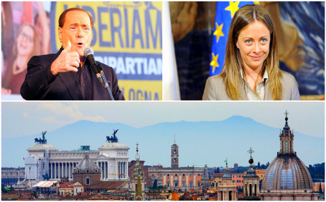 Fury as Berlusconi says Rome mayor job 'is not for mums'