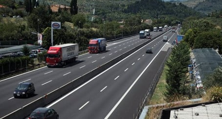 Woman killed after husband leaves her on Italy motorway