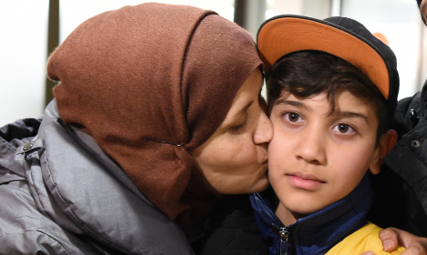 Refugee boy thought to be dead finds family 1 year later