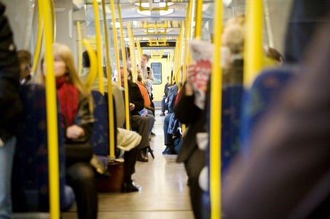 Ever wondered how dirty the Stockholm tube is?