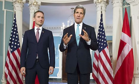 Kerry: Denmark 'front and centre' in Isis fight