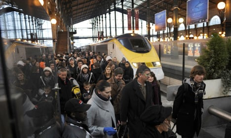 Knife-wielder tries to force way through Eurostar security