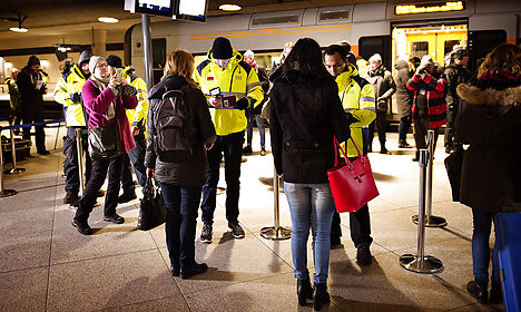No fines for failed ID checks from Denmark to Sweden