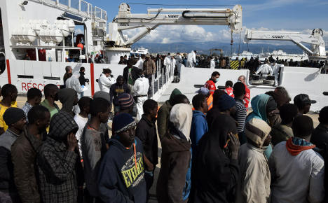 Italy rescues over 1,500 migrants in Strait of Sicily