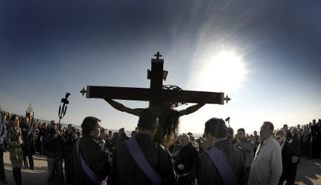 Gay Jesus banned from Easter parade in Spain