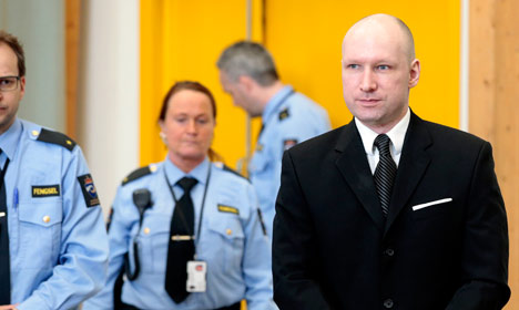 Breivik not suffering from prison isolation: doctors
