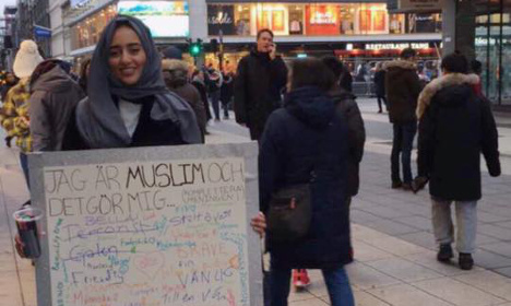 Watch Swedes react to this Muslim student's question