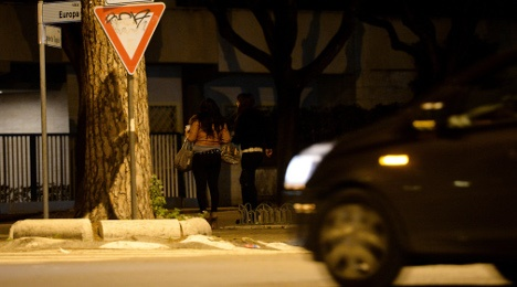 Italian city fines prostitutes for sexy clothes and flirty looks