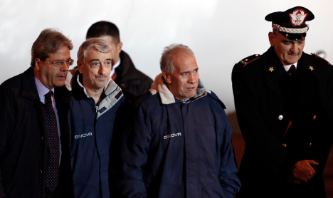 'No ransom paid' to free Italian hostages in Libya