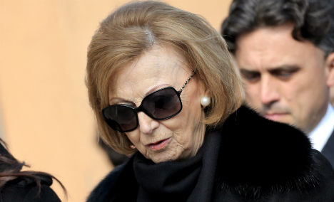 Nutella maker's widow is now the world's richest Italian