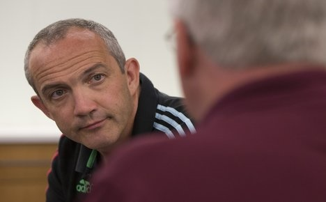 Italy name Conor O'Shea as new rugby coach