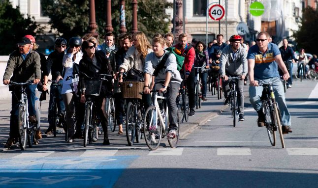 US leaders to Copenhagen for bicycling inspiration