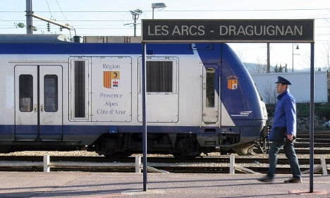 French Riviera to beef up security on rail network