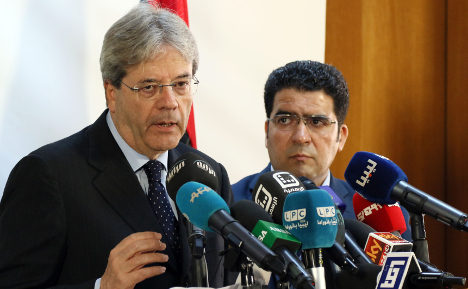 Italian minister in Libya for talks with unity government