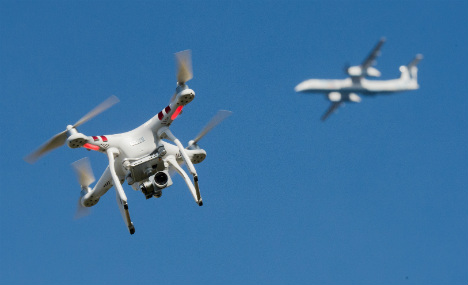 Traffic cops in the sky: Germany goes after drones