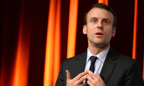 France's ambitious Macron told to get into line